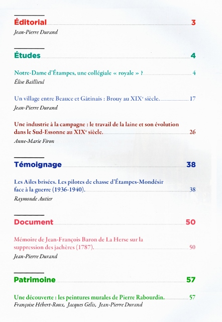 Cahier 14 sommaire 442x640
