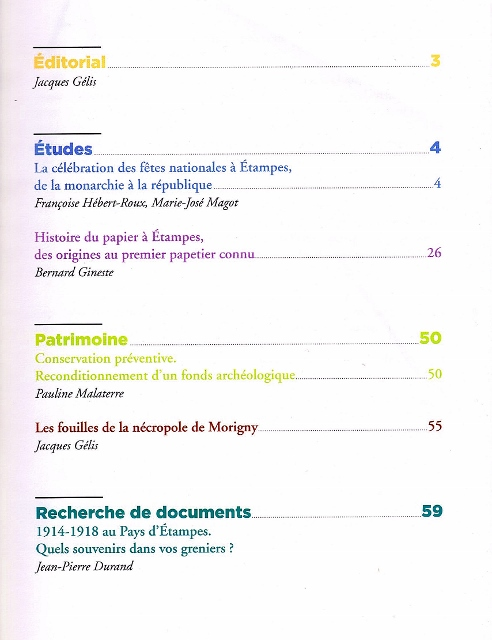 couv cahier 11 Sommaire 492x640