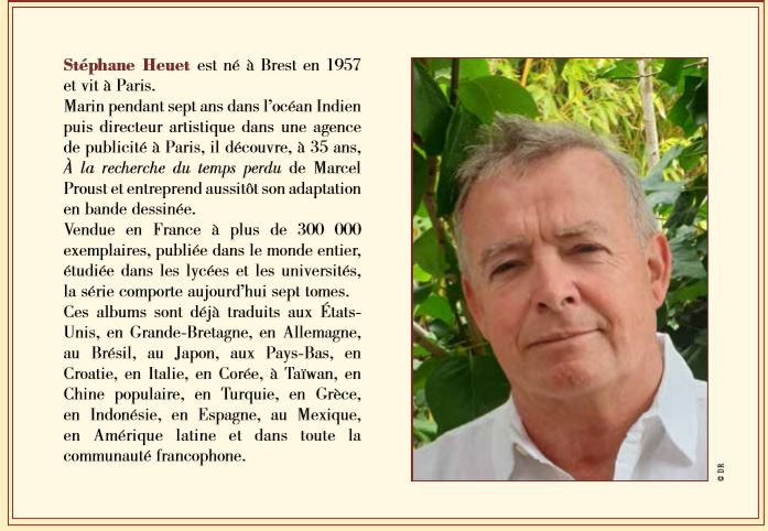 Biographie Stephane Heuet